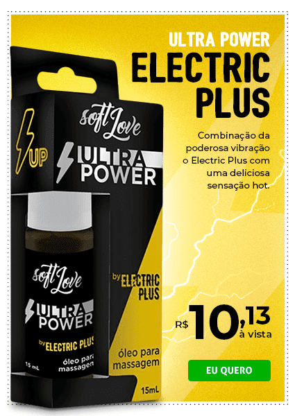 ULTRA POWER ELETRIC PLUS 15ML SOFT LOVE