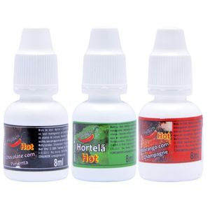 GOTAS DO PRAZER AROMATIZADAS 8ML CHILLIES