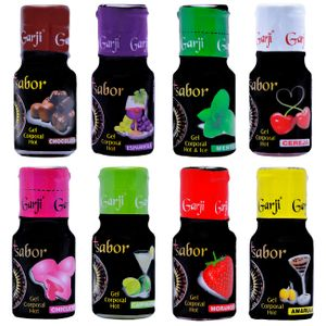 +SABOR GEL CORPORAL  HOT 15 ML GARJI