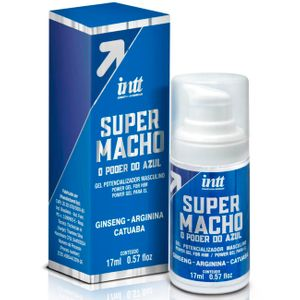 SUPER MACHO O PODER DO AZUL GEL MASCULINO 17ML INTT