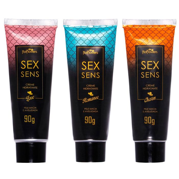 Creme Hidratante Sex Sens 90g Hotflowers