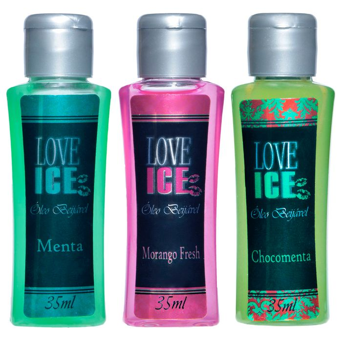 Love Ice Gel Beijável 35ml Chillies