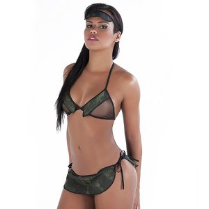 Kit Mini Fantasia Militar Amareto