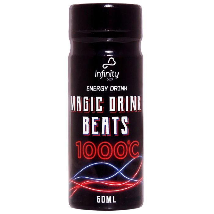 Energético Magic Drink Beats 1000°c 60ml Infinity Sex
