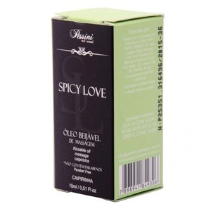 SPICY LOVE GEL COMESTIVEL PESSINI 15 ML