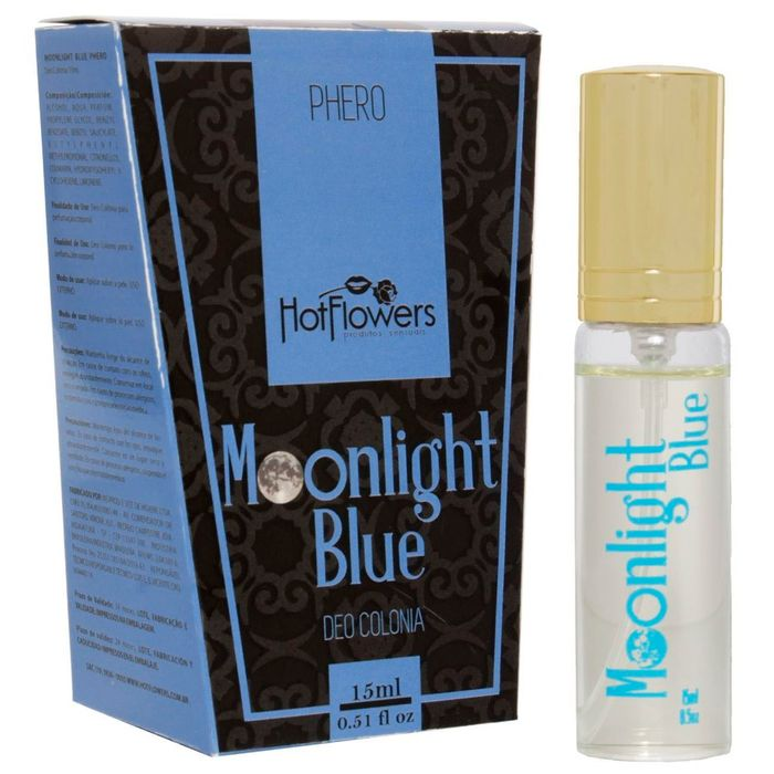 DEO COLONIA MOONLIGHT BLUE 15ML HOT FLOWERS