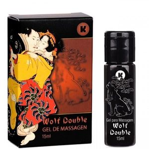 WOLF DOUBLE GEL ESQUENTA ESFRIA 15ML K GEL