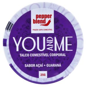YOU AND ME TALCO COMESTIVEL 25G PEPPER BLEND