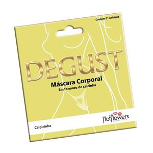 Degust Calcinha Comestivel Hot Flowers