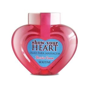 SHOW YOUR HEART ÓLEO DE MASSAGEM 70ML SEXITIVE