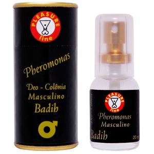 BADIH COLONIA MASCULINA 20ML PLEASURE LINE