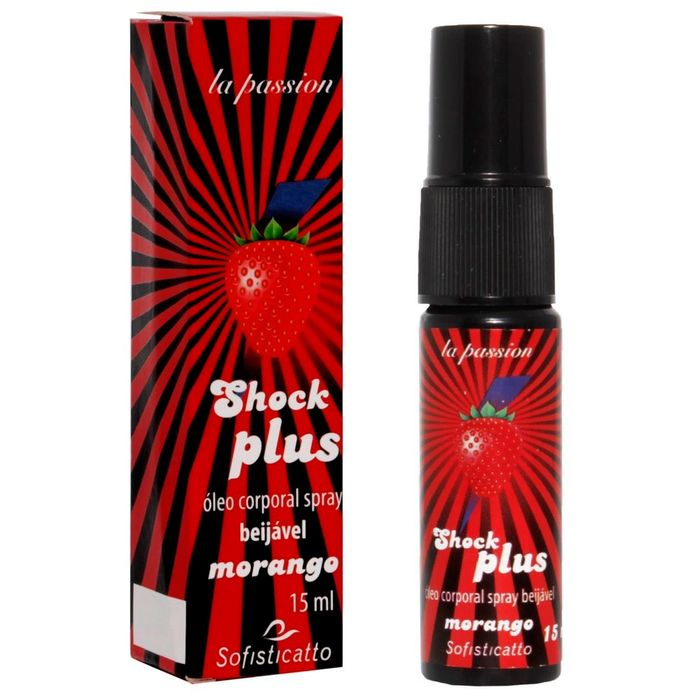 SHOCK PLUS GEL BEIJÁVEL 15ML SOFISTICATTO