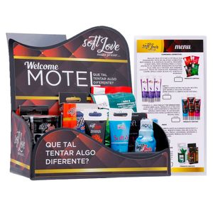 KIT DISPLAY MOTEL SOFT LOVE