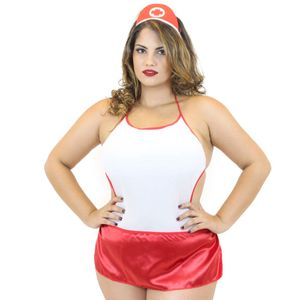 FANTASIA SALVA VIDAS BODY PLUS SIZE MIL TOQUES
