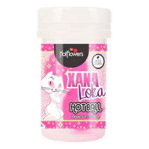 XANA LOKA HOT BALL ESQUENTA ESFRIA VIBRA 3G HOT FLOWERS