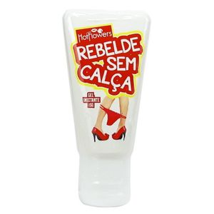 REBELDE SEM CALCA GEL ANAL 15G  HOT FLOWERS