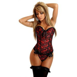 CORSELET RENDADO COMPOSE