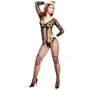 MACACÃO RENDADO ALINE BODYSTOCKING