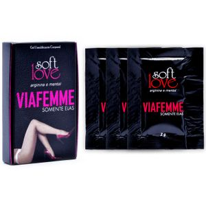 VIA FEMME SUPER EXCITANTE FEMININO SOFT LOVE