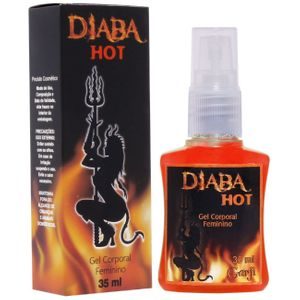 DIABA HOT GEL EXCITANTE FEMININO 35ML GARJI