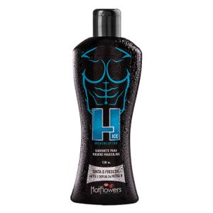 H Ice Sabonete Intimo Masculino 130ml Hot Flowers