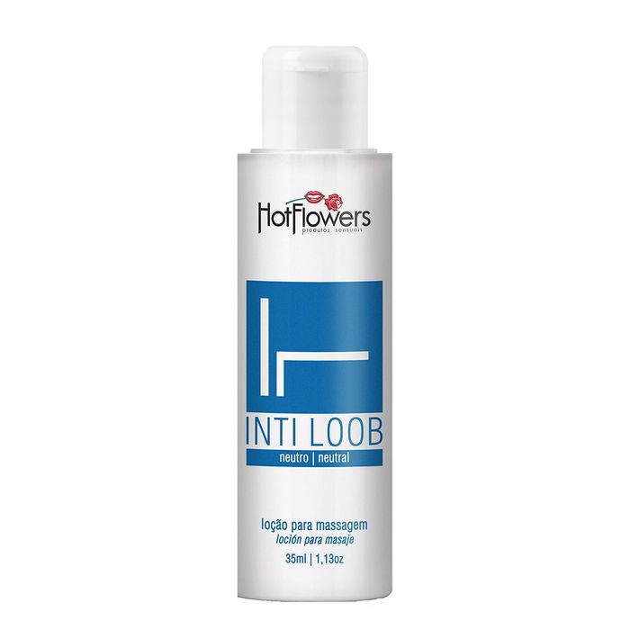 Inti Loob Lubrificante 35ml Hot Flowers