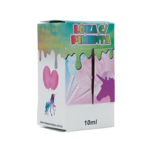 BALA GEL DO UNICORNIO 10ML LOKA SENSAÇÃO