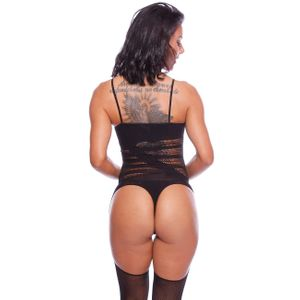 MACACÃO VIRGÍNIA RENDADO BODYSTOCKING