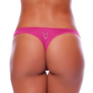 TANGA FIO DENTAL PLAYBOY STRASS YULLY SENSUAL