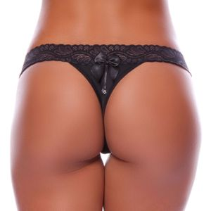 TANGA FIO DENTAL CINTURA RENDA YULLY SENSUAL