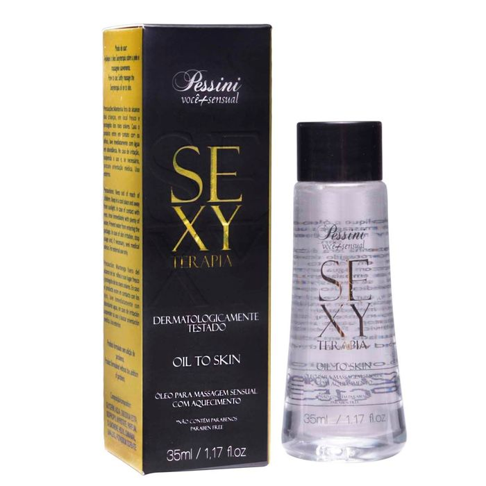 OLEO PARA MASSAGEM SENSUAL HOT SEXY TERAPIA 35ML PESSINI