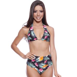 CONJUNTO BIQUINI HOT PAINT ESTAMPADO SEREIAH