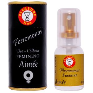 AIMÉE COLONIA FEMININA 20ML PLEASURE LINE