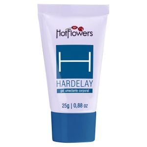Hardelay Gel Prolongador de Ereção 25g Hot Flowers