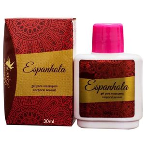 ESPANHOLA GEL PARA MASSAGEM 30ML SECRET LOVE