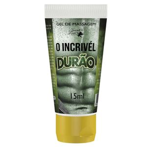 INCRIVEL DURÃO GEL PROLONGADOR DE EREÇÃO 15ML SECRET LOVE