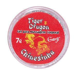 TIGER & DRAGON POMADA CHINESINHA  7G  GARJI