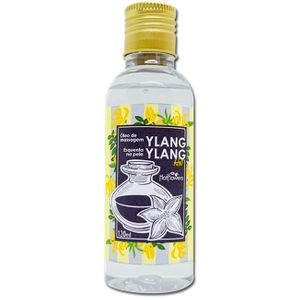 ÓLEO HIDRATANTE PARA MASSAGEM SENSUAL DE YLANG YLANG 120ML HOT FLOWERS
