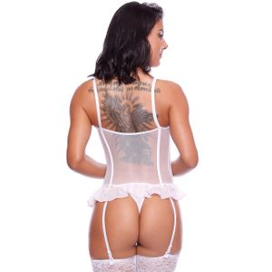 ESPARTILHO VIRGINIA COM ZIPPER MACLER LINGERIE