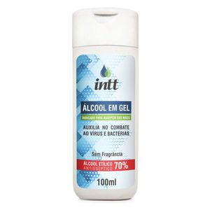 ALCOOL GEL 70% CONTRA CORONA VIRUS 100ML INTT