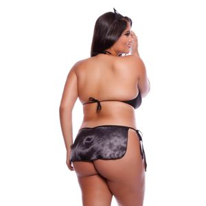 FANTASIA POLICIAL PLUS SIZE MIL TOQUES