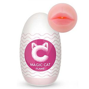 MAGIC CAT FLAME MASTURBADOR EGG MASCULINO CYBER