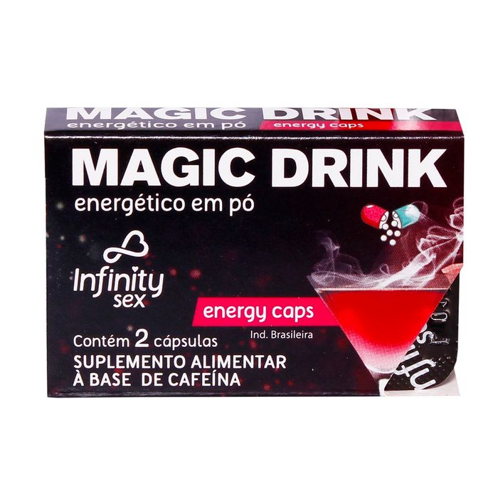 MAGIC DRINK ENERGY CAPS INFINITY SEX