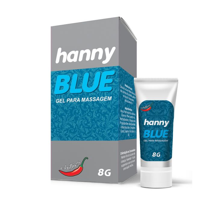 HANNY BLUE ANESTÉSICO 8GR CHILLIES