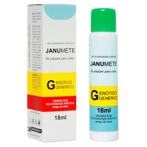 Janumete Gel Provocador De Ereção 18ml Secret Love