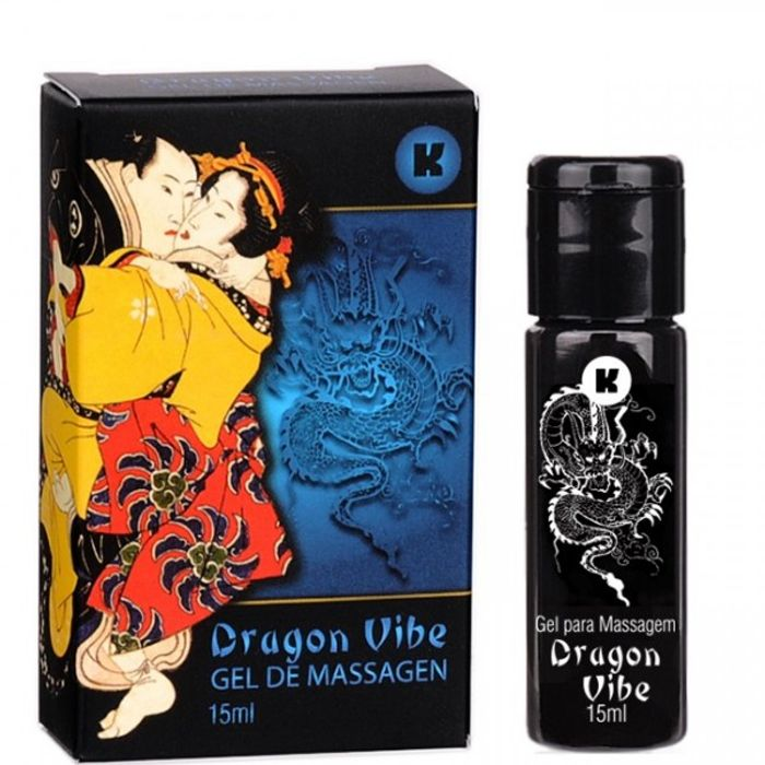 Dragon Vibe Gel Eletrizante 15ml K Gel