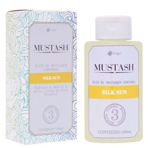 Mustash Silk Sun óleo De Massagem 100ml Kalya