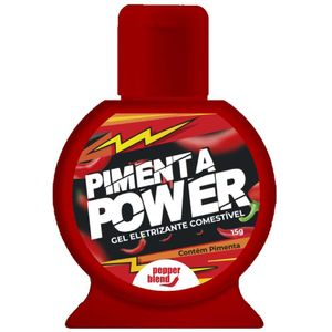 Pimenta Power Gel Eletrizante Comestível 15g Pepper Blend