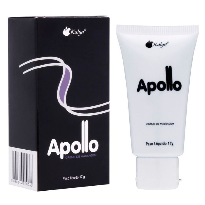 Apollo Creme Para Massagem 17g Kalya