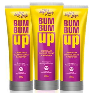 Bum Bum Up 250 Ml Soft Love